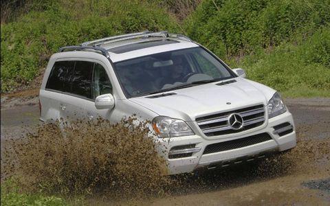 Driver's Log Gallery: 2011 Mercedes-Benz GL350 Bluetec