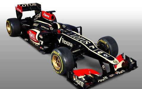 The Lotus E21 was unveiled on Monday.
