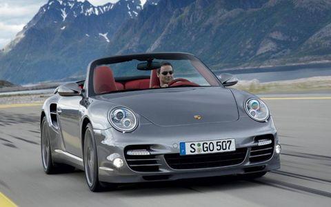 The convertible 2010 Porsche 911 Turbo will cost $143,800