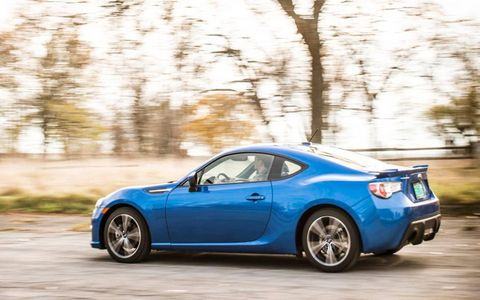 Our tester is the Limited trim and has a nice coat of Subaru's signature WR blue paint.