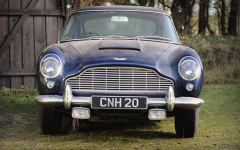 With less than 48,000 miles on the clock, the Aston Martin DB5 is remarkably complete.
