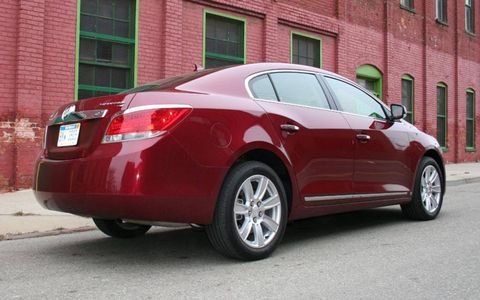 Driver's Log: 2010 Buick LaCrosse CXS