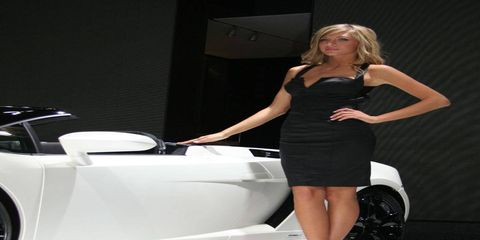 One final look at the Girls from the NAIAS