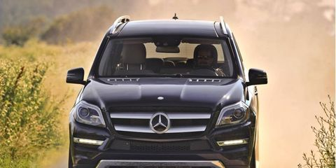 The 2013 Mercedes-Benz GL450 4Matic has more than enough cargo space to haul home furnishings.