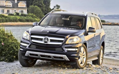 Our test 2013 Mercedes-Benz GL450 4Matic included heated rear seats and a panorama sunroof.