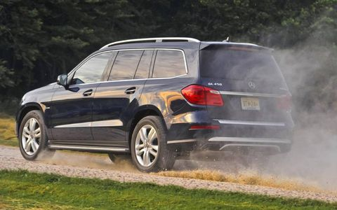 The 2013 Mercedes-Benz GL450 4Matic offers plenty of power with the 4.6-liter twin-turbocharged V8 engine.