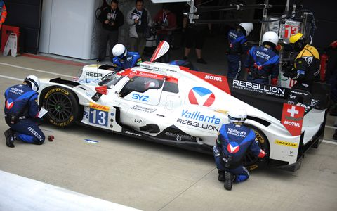 Toyota will start Sunday's 6 Hours of Silverstone will both cars on the front row for the opening round of the 2017 FIA World Endurance Championship.