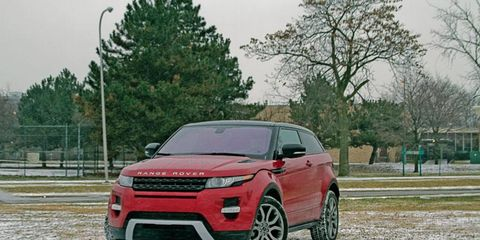 """""""This little baby is the perfect downsized Range Rover, carrying on for queen and country in the truest sense of the tradition, but in a much smaller, much sportier, much more sensible product."""" - Executive Editor Bob Gritzinger"""