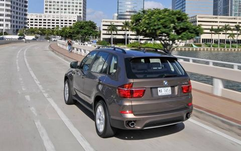 Fuel economy for the 2013 BMW X5 xDrive35i is 16 mpg in the city and 23 mpg on the highway.