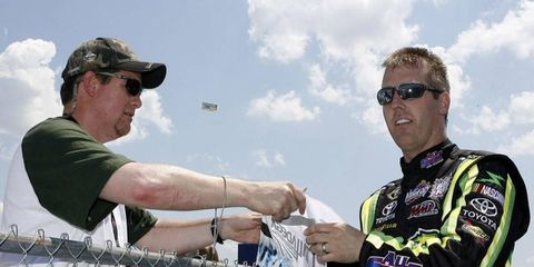 It's unlikely that you will see Jeremy Mayfield in a NASCAR fire suit anytime soon. Although the suspended driver has expressed interest in returning.