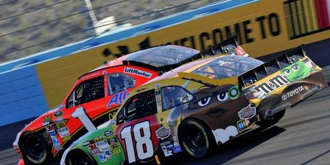 Kyle Busch is hoping for a breakout season after having a rough time of late.