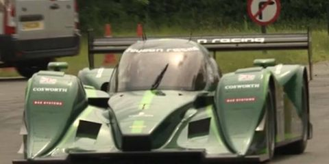 Drayson Racing will be the first official team in the Formula E class, a zero emissions race car.