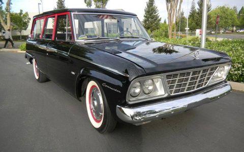 Designer Brooks Stevens was responsible for the clean, crisp lines of this 1965 Studebaker Wagonaire Deluxe.
