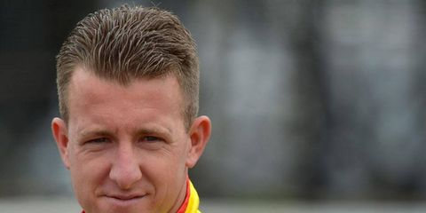 A.J. Allmendinger has gone from a dream opportunity with Penske Racing to an uncertain racing future in less than a year.