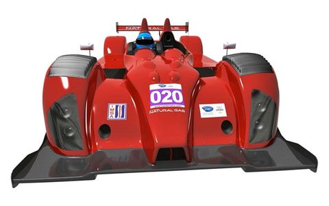 Patrick Racing is planning to race a car powered by liquefied natural gas in the Grand-Am/ALMS.