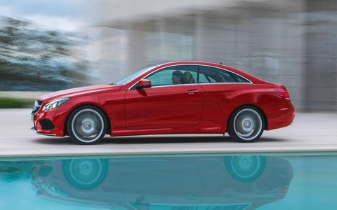 Like the sedan and wagon, the 2014 Mercedes-Benz E-class coupe and cabriolet will be offered with two gasoline engine selections.