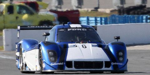 """Michael Valiente had the fastest lap in the """"Roar Before the Rolex 24."""""""