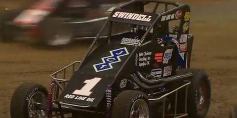Three-time defending race winner Kevin Swindell will have a target on his back in Tulsa for the annual Chili Bowl Nationals.