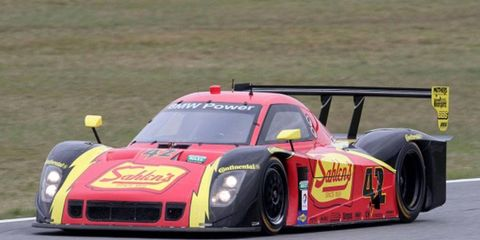 Team Sahlen driver Dane Cameron posted the fastest lap in testing on Saturday at Daytona International Speedway.