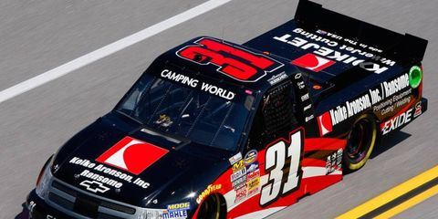 Driver James Buecher gave Turner Motorsports a Camping World Truck Series championship in 2012. This year, the team will drive under the banner of Turner Scott Motorsports.