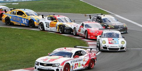 The GT classes of the American Le Mans Series and Grand-Am Series will remain separate classes when the two series merge in 2014.