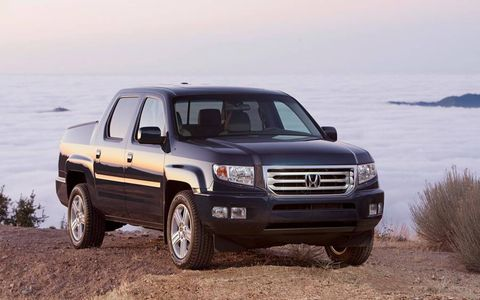 The Honda Ridgeline is powered by a 3.5-liter V6 engine making 250 hp and 247 lb-ft of torque.