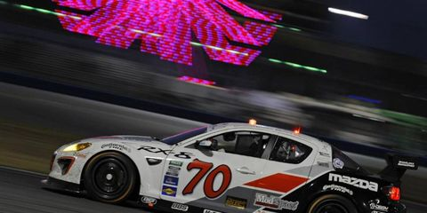 The team of Jonathan Bomarito, Marino Franchitti, James Hinchcliffe and Sylvain Tremblay will be back in the No. 70 Mazda for the Rolex 24. The team will be joined by new driver, Tom Long.