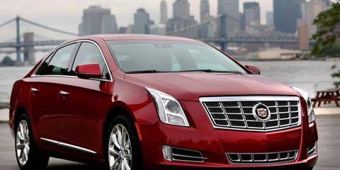 GM uses the new air conditioning refrigerant in the 2013 Cadillac XTS sedan.