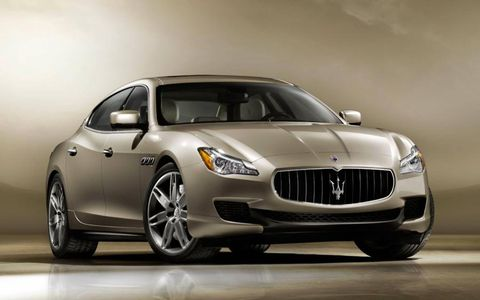 The sixth-generation Quattroporte is bigger, lighter, faster and gets better fuel economy then the previous generation.