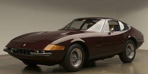 This fantastically brown Ferrari Daytona shall find a new home courtesy of Barrett-Jackson.