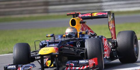 Sebastian Vettel's third Formula One championship was nowhere to be found on at least one list of top sports stories from 2012.