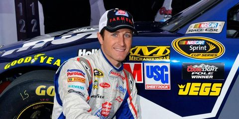 Kasey Kahne will split time with Brad Sweet in the No. 5 car for JR Motorsports in the 2013 NASCAR Nationwide Series.