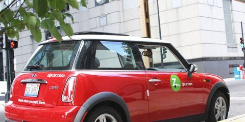 Avis Budget has purchased the Zipcar car sharing business for $491 million.