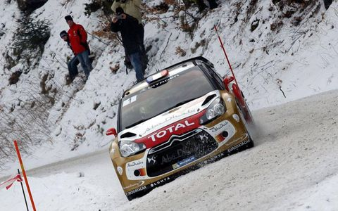 Sebastien Loeb's win in Monte Carlo was the 77th of his World Rally Championship career.