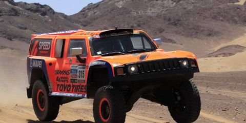 Robby Gordon has sandwiched a pair of stage wins with a runner-up effort at the Dakar Rally.