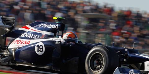 The Williams F1 team will reveal its 2013 car Feb. 19.