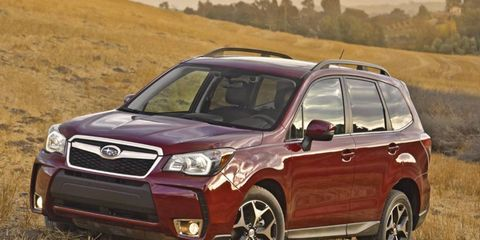 Subaru redesigned the Forester for 2014.