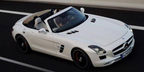 The Mercedes-Benz SLS AMG uses the 6.2-liter V8 developed under Friedrich Eichler.