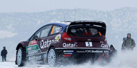 Evgeny Novikov was fastest to two legs at Monte Carlo on Thursday.