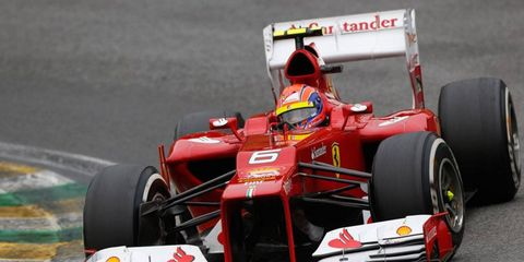 Ferrari driver Felipe Massa was seventh in the Formula One points race last year after finishing sixth in 2010 and 2011.