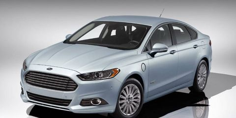 The 2013 Ford Fusion Energi has an all-electric range of 21 miles.