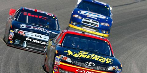 NASCAR is considering running exhibition races in Europe in hopes of bringing more exposure to the sport.