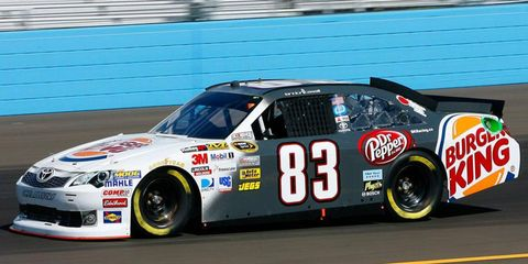 Landon Cassill made 36 starts in 2012 for BK Racing.
