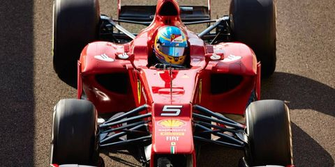 Ferrari is hoping for a good showing early in the upcoming season for Fernando Alonso, above, and Felipe Massa.