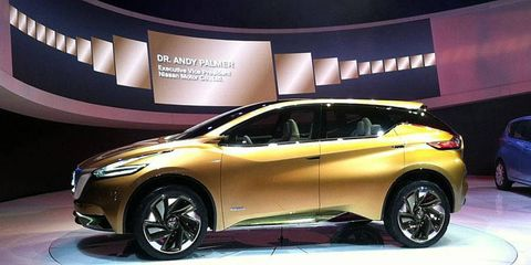 The Nissan Resonance previews the Murano CUV.