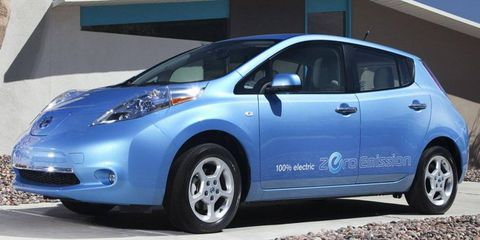 Nissan Leaf sales this year totaled 8,330 cars through November.