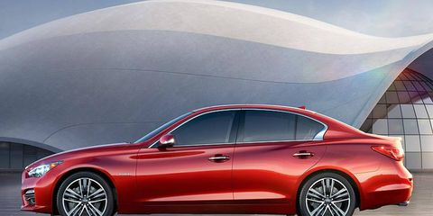 The Infiniti Q50 replaces the G37 in the automaker's lineup.