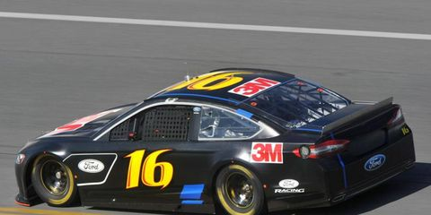 Greg Biffle, in a Ford Fusion, was quickest Saturday in the final session of a three-day test at Daytona International Speedway.