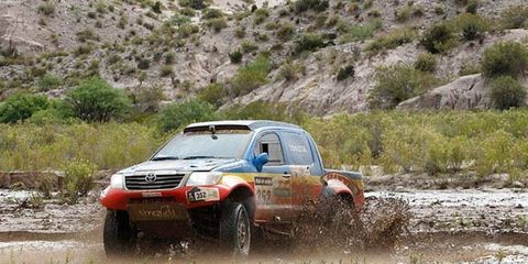 Organizers canceled Saturday's stage at the Dakar Rally after parts of the course became virtually impossible to navigate.