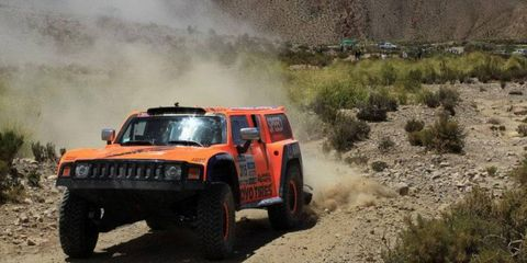 Robby Gordon was third in Friday's seventh stage at the Dakar Rally. He's in 23rd place, nearly six hours behind leader Stephane Peterhansel.